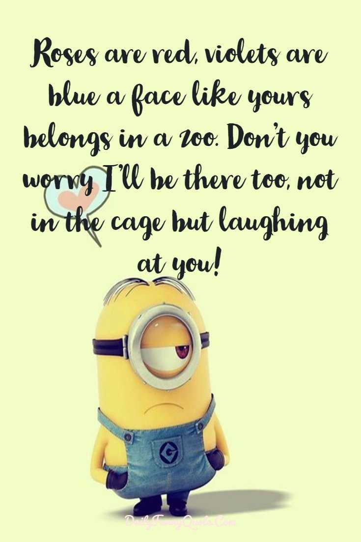 Minions Quotes 40 Funny Quotes Minions And Short Funny Words ...