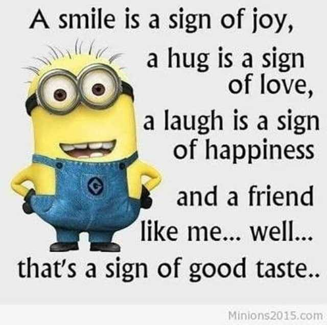 27 Funny Quotes Inspirational That will Inspire You — Minions Quotes 9