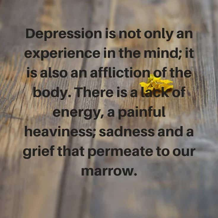 37 Depression Quotes About Life and Sayings 34