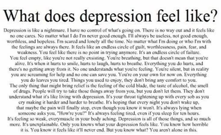 300 Depression Quotes and Sayings About Depression 77