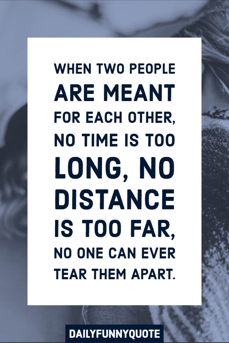 59 Cute relationship quotes long distance