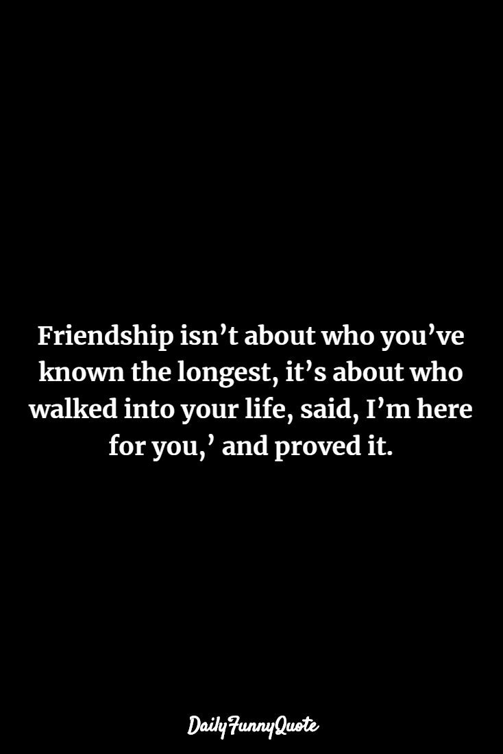 friendship quotes short 119 Inspirational Friendship Quotes About Life