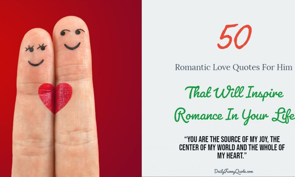 Romantic quotations for him