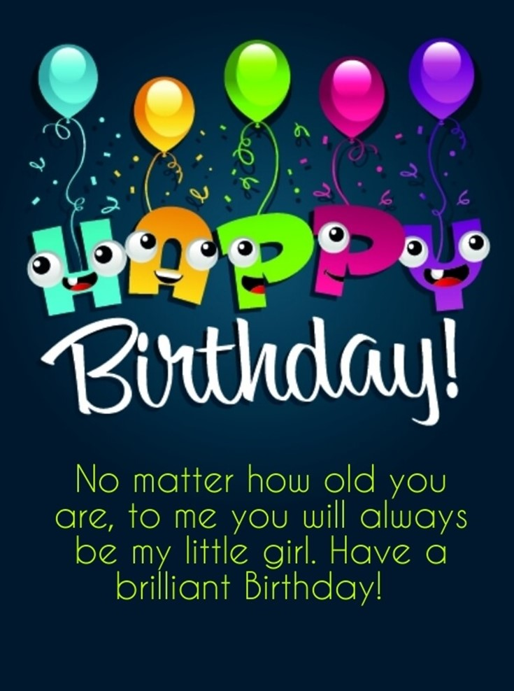 26 Happy Birthday Wishes for Daughters Best Messages Quotes 12