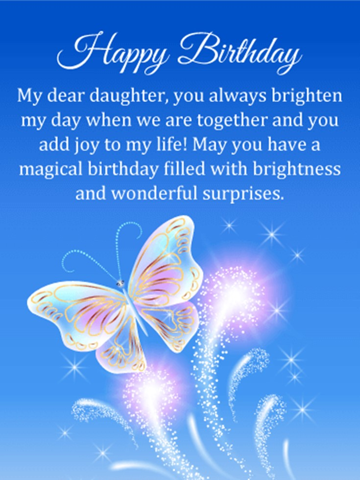 26 Happy Birthday Wishes for Daughters Best Messages Quotes 13