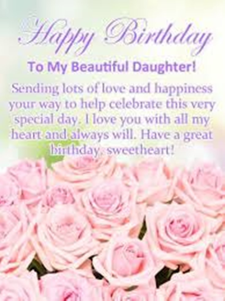 26 Happy Birthday Wishes for Daughters Best Messages Quotes 17