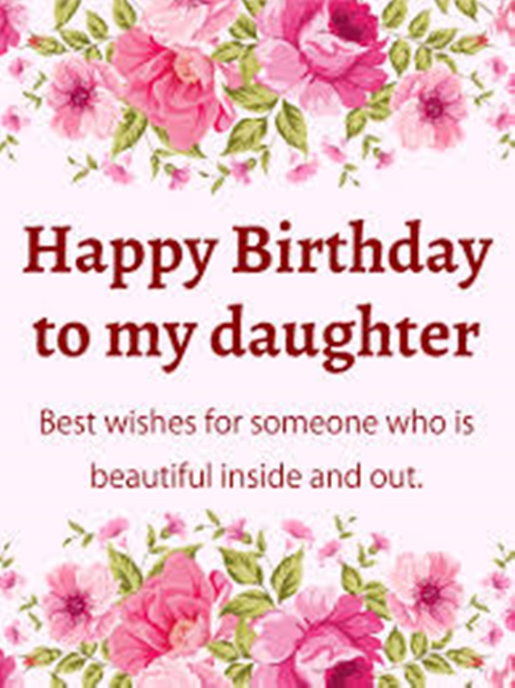 26 Happy Birthday Wishes for Daughters Best Messages Quotes 18