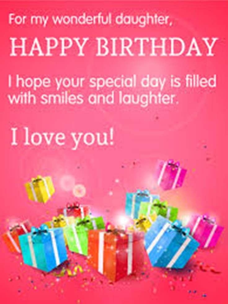 26 Happy Birthday Wishes for Daughters Best Messages Quotes 19
