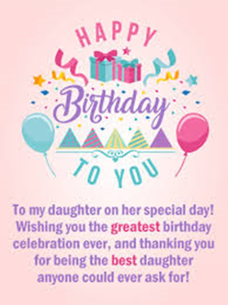26 Happy Birthday Wishes for Daughters Best Messages Quotes 20