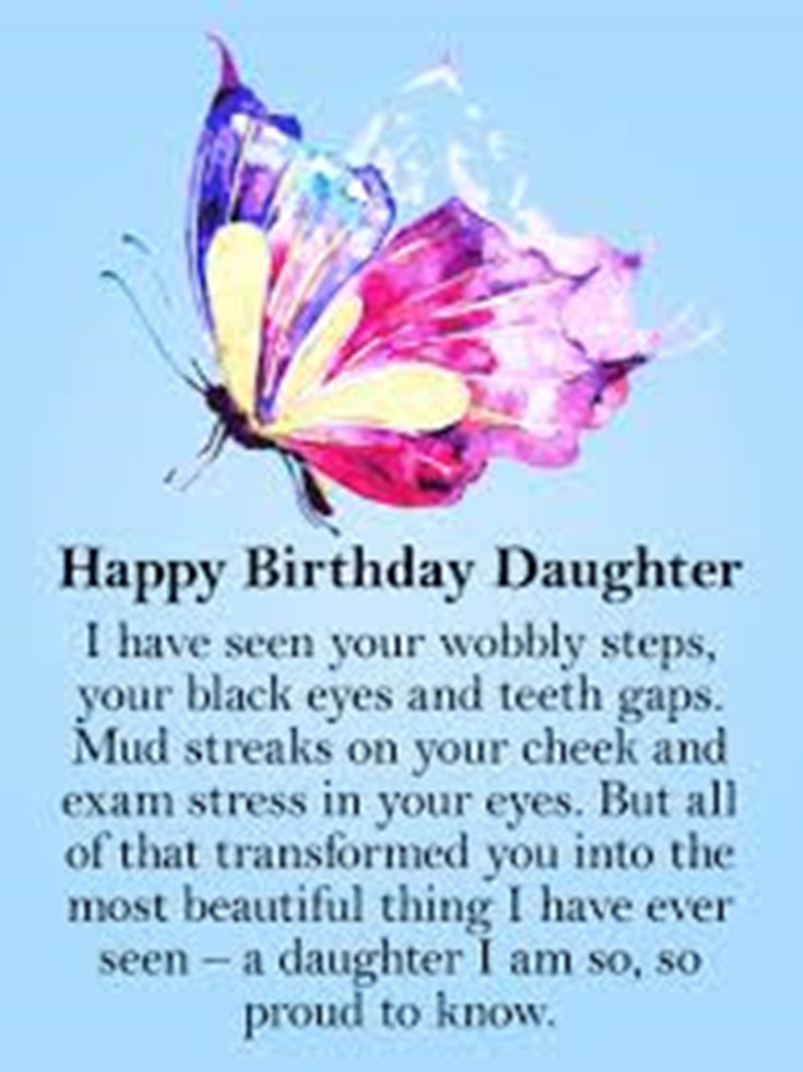 26 Happy Birthday Wishes for Daughters Best Messages Quotes 27
