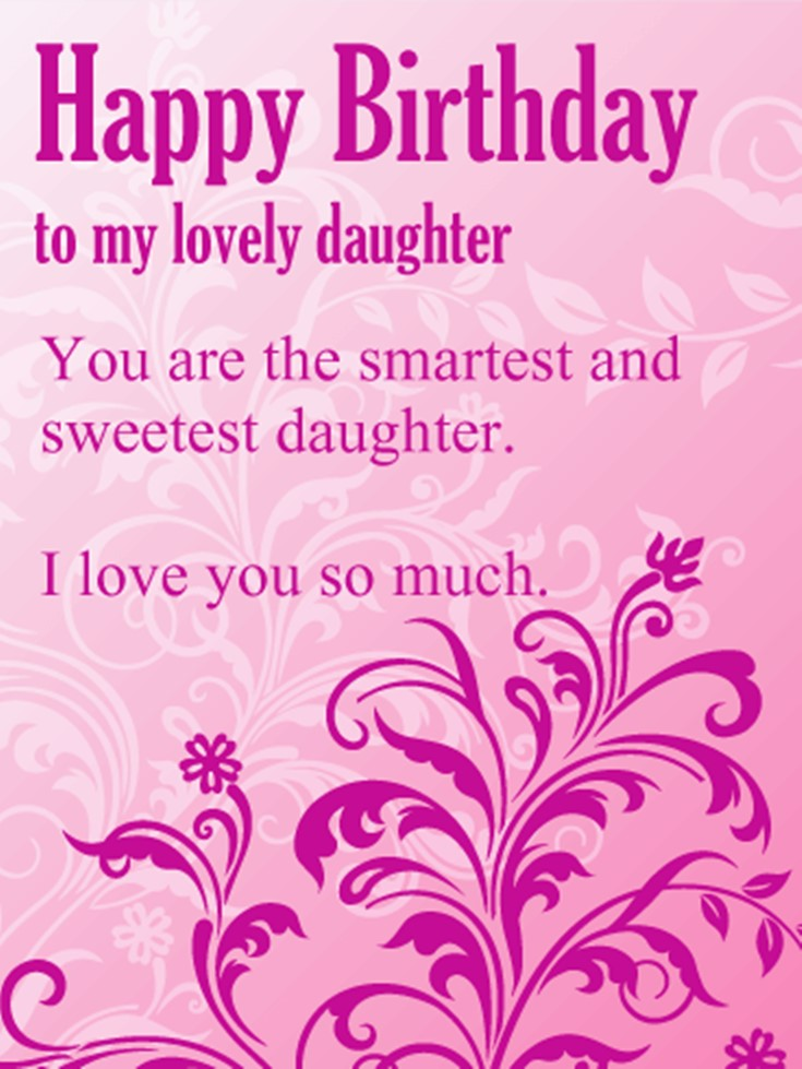 26 Happy Birthday Wishes for Daughters Best Messages Quotes 8