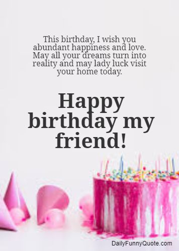 Peachy 50 Birthday Wishes For Friends Happy Birthday Quotes Daily Personalised Birthday Cards Paralily Jamesorg