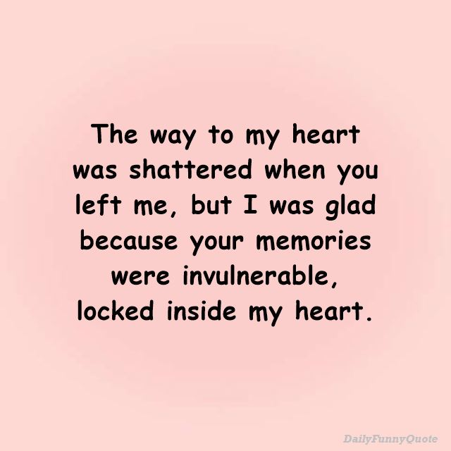 Heart Touching Broken Heart Quotes Straight from the Heart 2