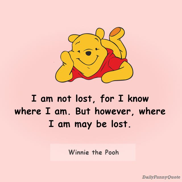 Winnie The Pooh Quotes for Every Facet of Life