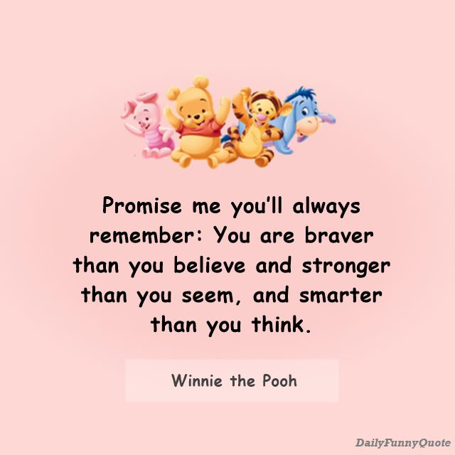 Winnie the Pooh quotes about friends