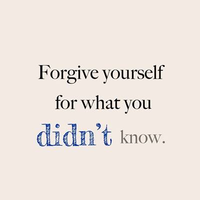 short funny quotes and sayings forgive yourself