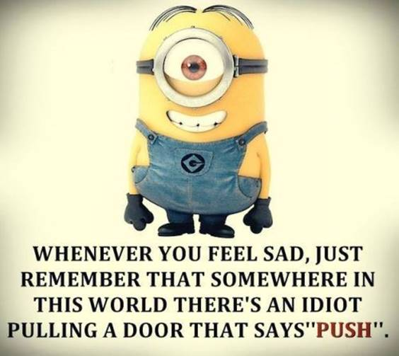 45 Funny Jokes Minions Quotes With minions thought minions quotes and sayings minions positive quotes