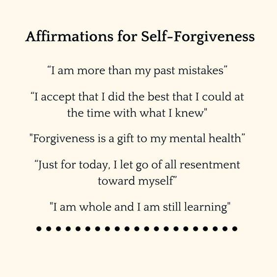 50 Forgive Yourself Quotes Self Forgiveness Quotes images 27