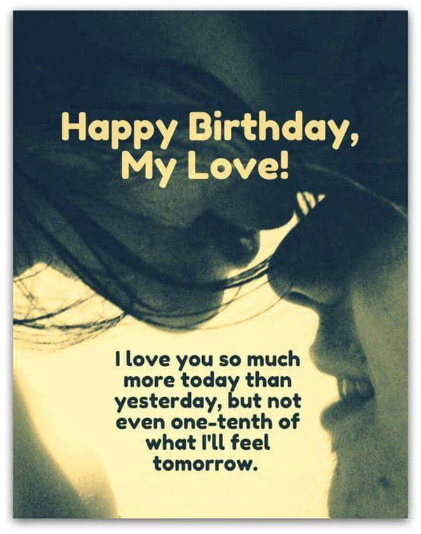 birthday message for someone special birthday card for boyfriend message