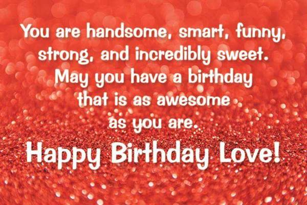 cute birthday sayings for him wishes for life birthday message for fiance birthday card ideas for lover