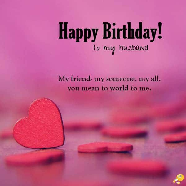 Happy Birthday Wishes For Husband _ Romantic Birthday Messages For Husband