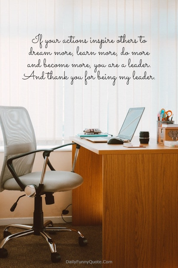 115 Appreciation Quotes for Boss Managers Boss day quotes, Boss quotes funny, Thank  you boss quotes