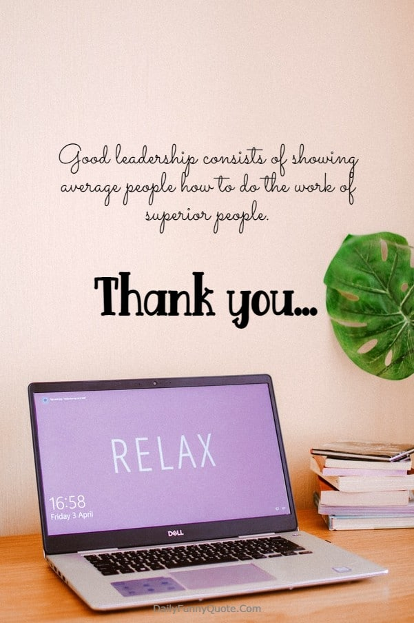 115 Appreciation Quotes for Boss Managers | Thank you quotes for  coworkers, Appreciation letter to boss, Thank you boss card