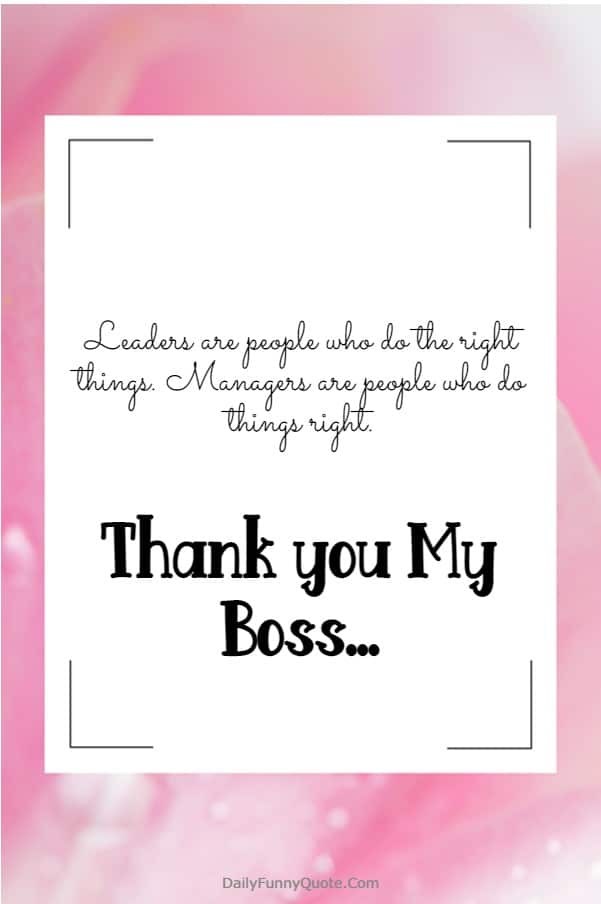 115 Appreciation Quotes for Boss Managers | Thank you boss, Thank  you printable, Thank you to manager
