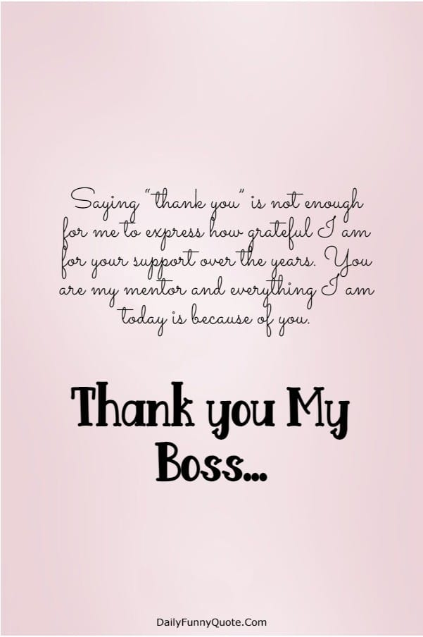 115 Appreciation Quotes for Boss Managers | Boss day quotes, Boss quotes funny, Thank  you boss quotes