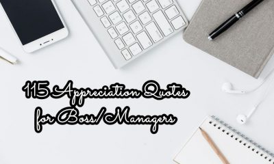 Appreciation Quotes for Boss Managers