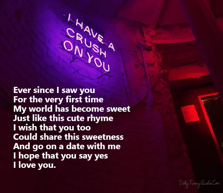 crush poems