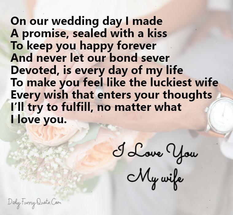 love poems for wife
