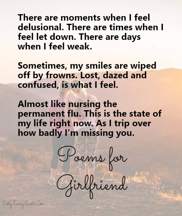 missing you poems
