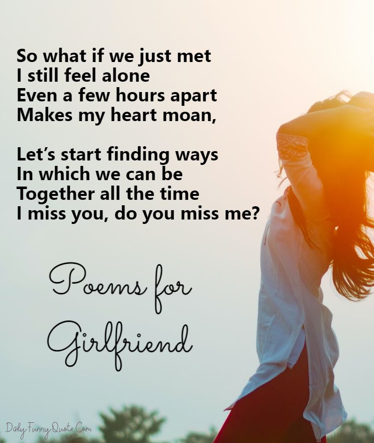 i miss you poems