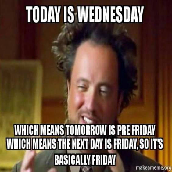 Wednesday Meme Work