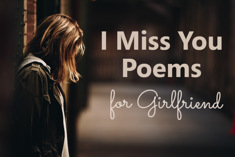 i miss you poems for girlfriend