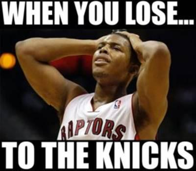 """45 Funny NBA Memes Funny Pun for Laugh Funny NBA Basketball Memes """"When you lose… To the knicks."""""""