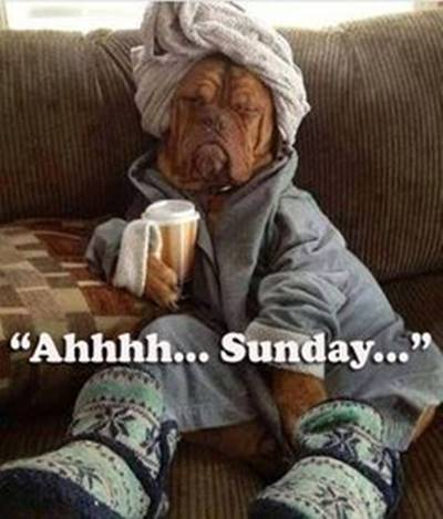 Sunday Quotes on Relaxing ENjoy - Ahhhh... Sunday...