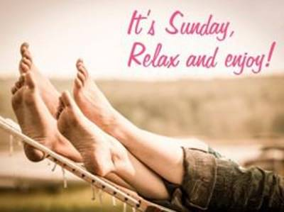 Blessed Sunday Quotes Pictures - It's Sunday, Relax and enjoy!