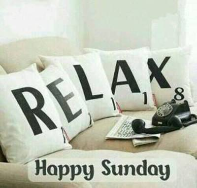 funny easter sunday quotes - Relax, Happy Sunday.