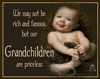 """45 grandparents quotes """"Grandchildren are like flowers. You never get tired of watching them grow!"""""""