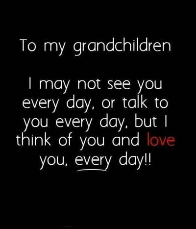 """45 grandparents quotes """"There's no greater music than the sound of my grandchildren laughing."""""""