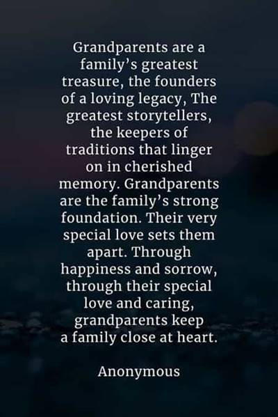 """45 grandparents quotes """"Something magical happens when parents turn into grandparents…"""""""