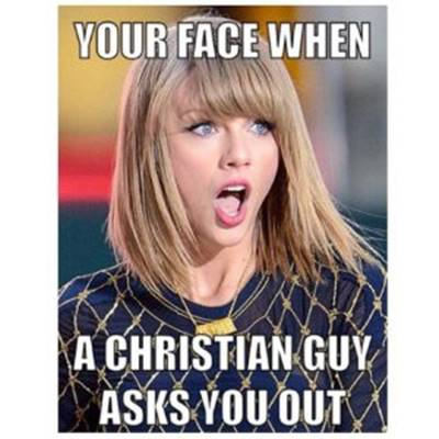 45 Single Memes To Make Your Lonely Heart Smile Funny Meme With Parrot And Singleness - Your face when a Christian guy asks you out.