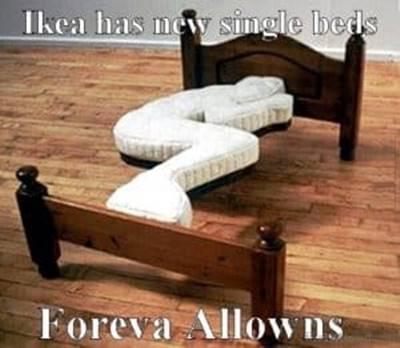45 Single Memes Don't Open That Door Meme Dating Single - ♥ Ikea has new single beds foreva allowns.