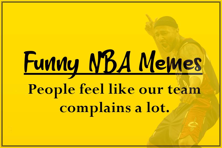Funny NBA Memes