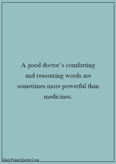 Inspirational Doctor Quotes