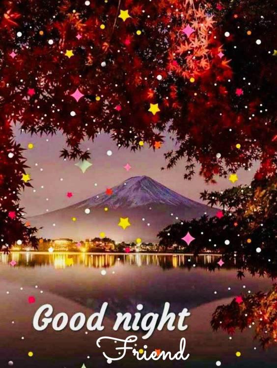 good night to my friend