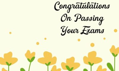 Congratulations Messages for Passing Exam and Good Results What To Write To Appreciate With Quotes