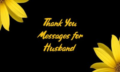 Thank You Messages For Husband What to Write in a Sweet Notes Quotes